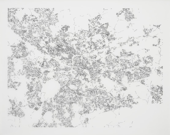 "Layla Curtis, ""Glasgow Index Drawing,"" 2012."